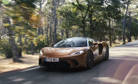 2020 McLaren GT (Color: Burnished Copper) Front Three-Quarter Wallpapers 450x275 (37)