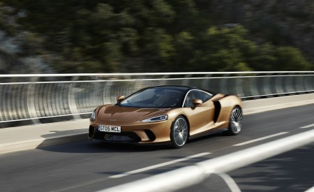 2020 McLaren GT (Color: Burnished Copper) Front Three-Quarter Wallpapers 450x275 (38)