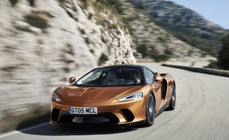 2020 McLaren GT (Color: Burnished Copper) Front Wallpapers 450x275 (32)