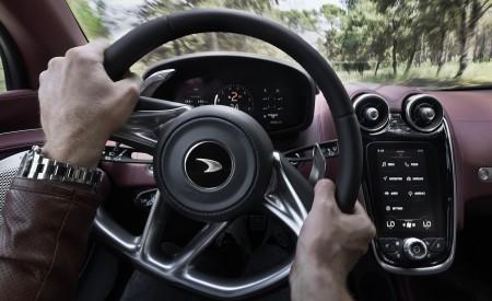 2020 McLaren GT (Color: Burnished Copper) Interior Steering Wheel Wallpapers 450x275 (66)