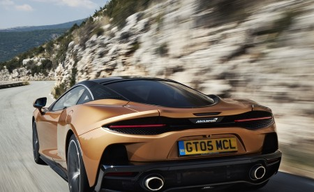 2020 McLaren GT (Color: Burnished Copper) Rear Wallpapers 450x275 (34)