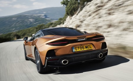 2020 McLaren GT (Color: Burnished Copper) Rear Wallpapers 450x275 (35)