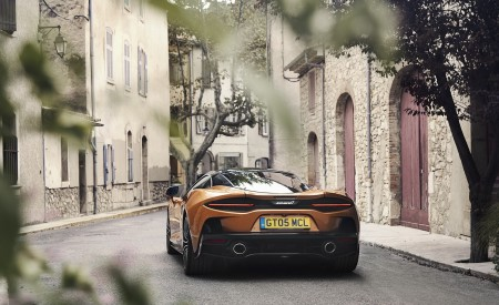 2020 McLaren GT (Color: Burnished Copper) Rear Wallpapers 450x275 (50)