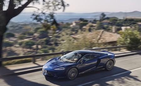 2020 McLaren GT (Color: Namaka Blue) Front Three-Quarter Wallpapers 450x275 (15)