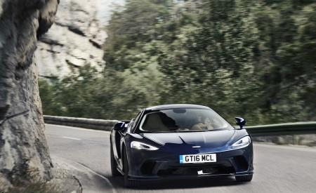 2020 McLaren GT (Color: Namaka Blue) Front Wallpapers 450x275 (2)