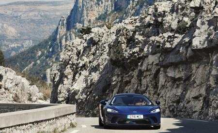 2020 McLaren GT (Color: Namaka Blue) Front Wallpapers 450x275 (10)