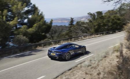 2020 McLaren GT (Color: Namaka Blue) Rear Three-Quarter Wallpapers 450x275 (9)