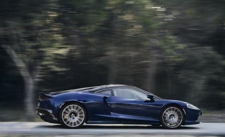 2020 McLaren GT (Color: Namaka Blue) Side Wallpapers 450x275 (4)