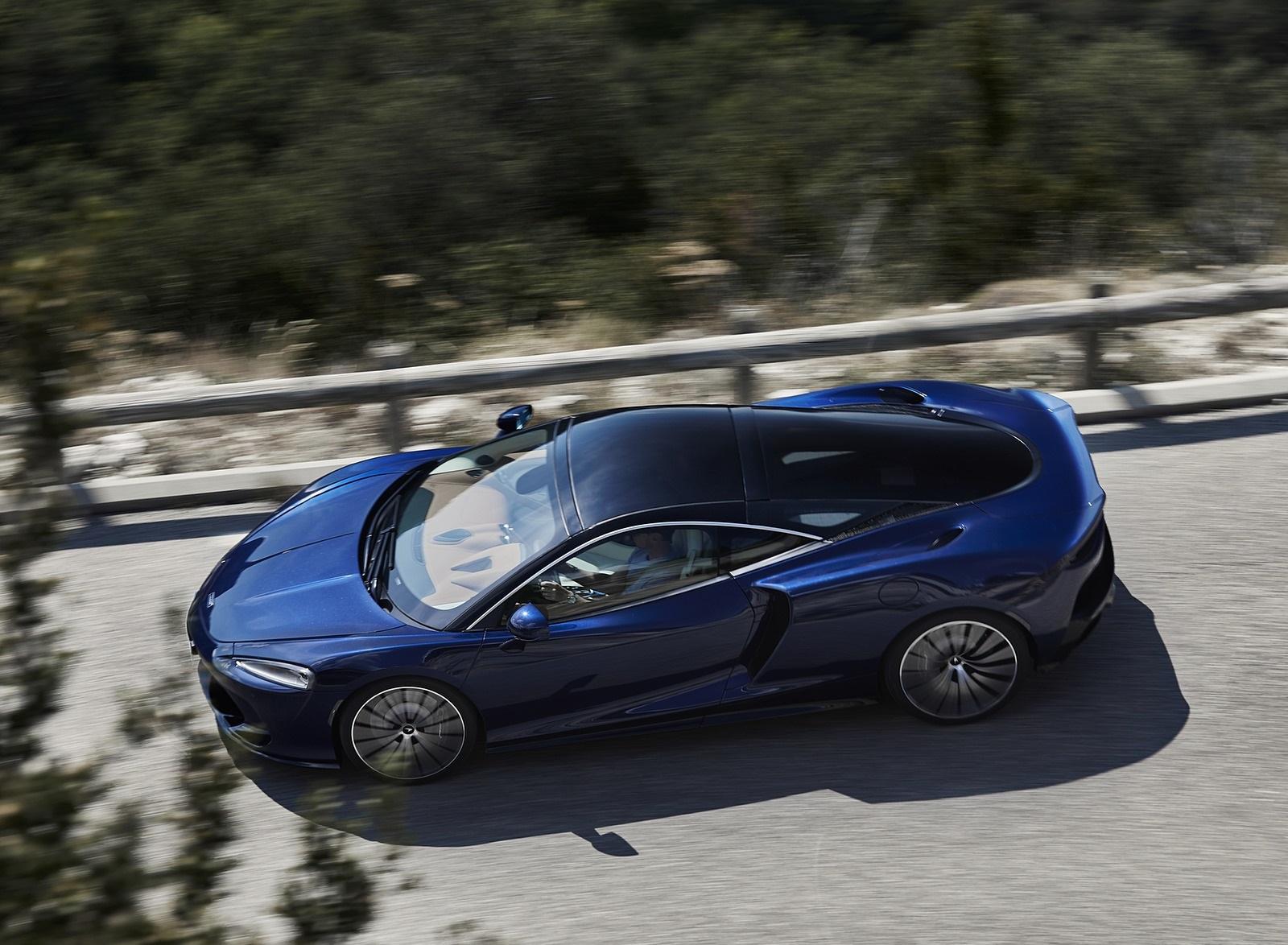 2020 McLaren GT (Color: Namaka Blue) Top Wallpapers (3)