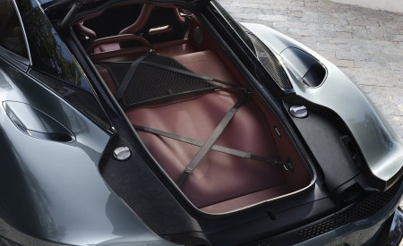 2020 McLaren GT (Color: Viridian) Trunk Wallpapers 450x275 (81)
