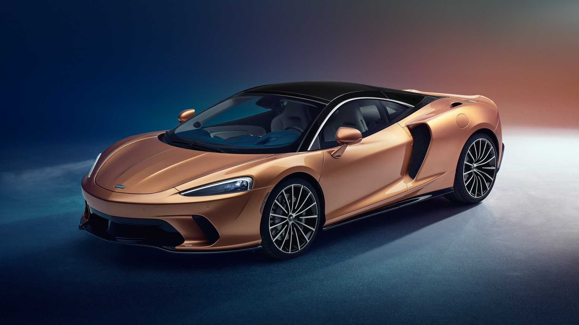 2020 McLaren GT Front Three-Quarter Wallpaper (7)