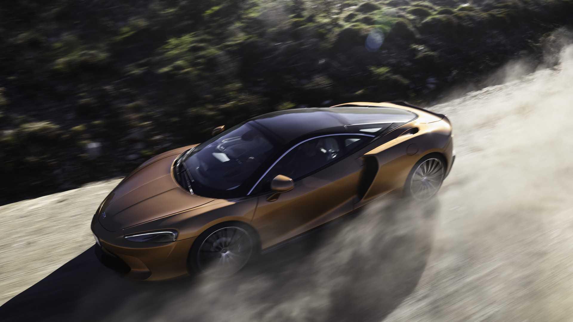 2020 McLaren GT Front Three-Quarter Wallpapers (1)