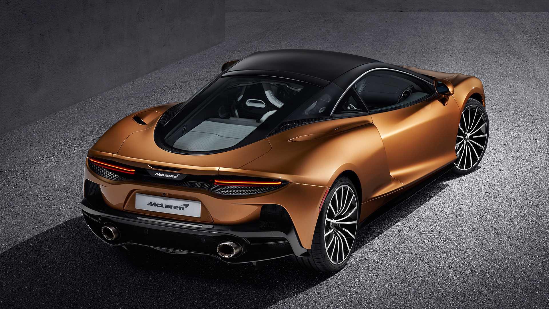 2020 McLaren GT Rear Three-Quarter Wallpapers (9)