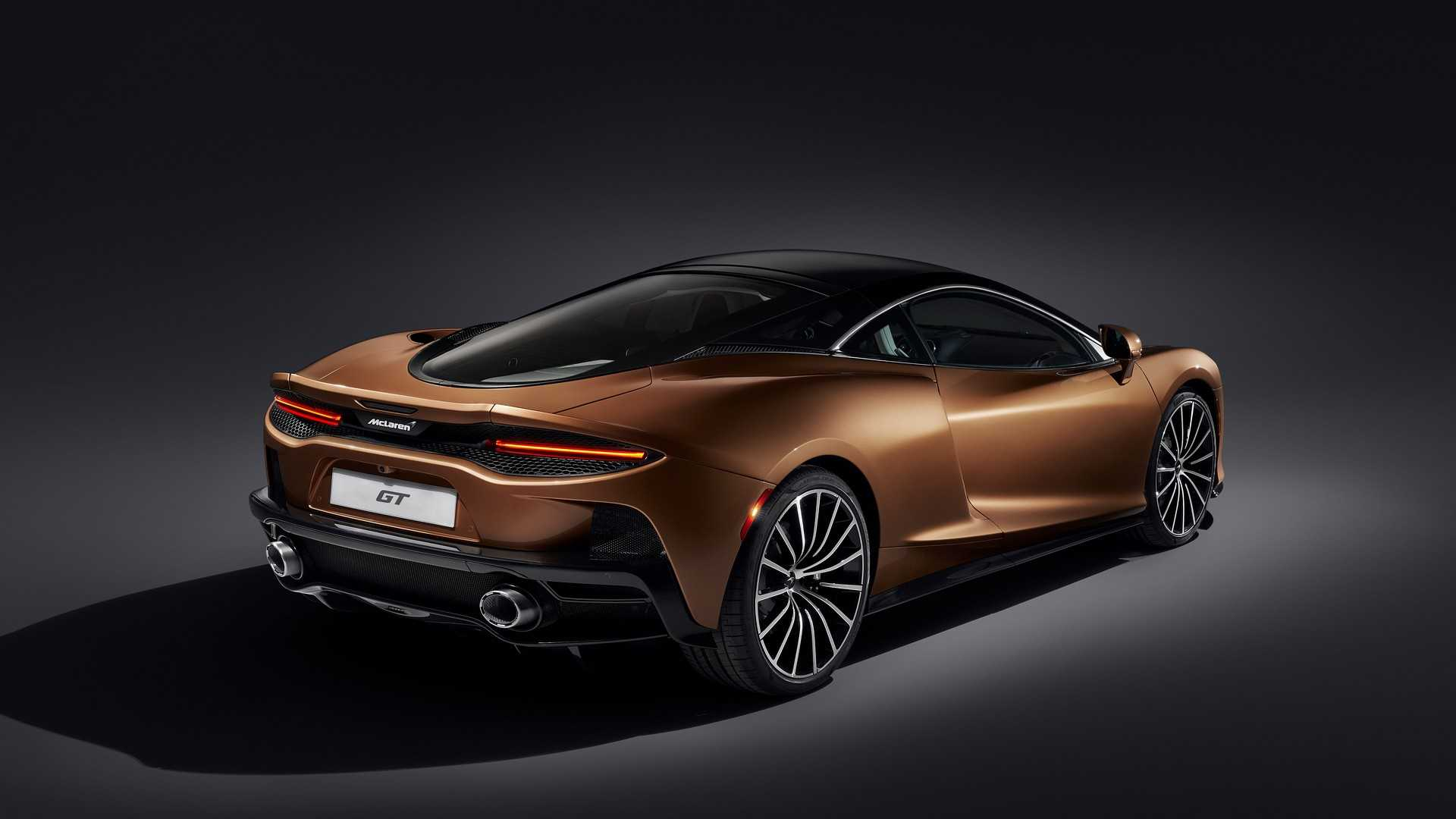 2020 McLaren GT Rear Three-Quarter Wallpapers (11)