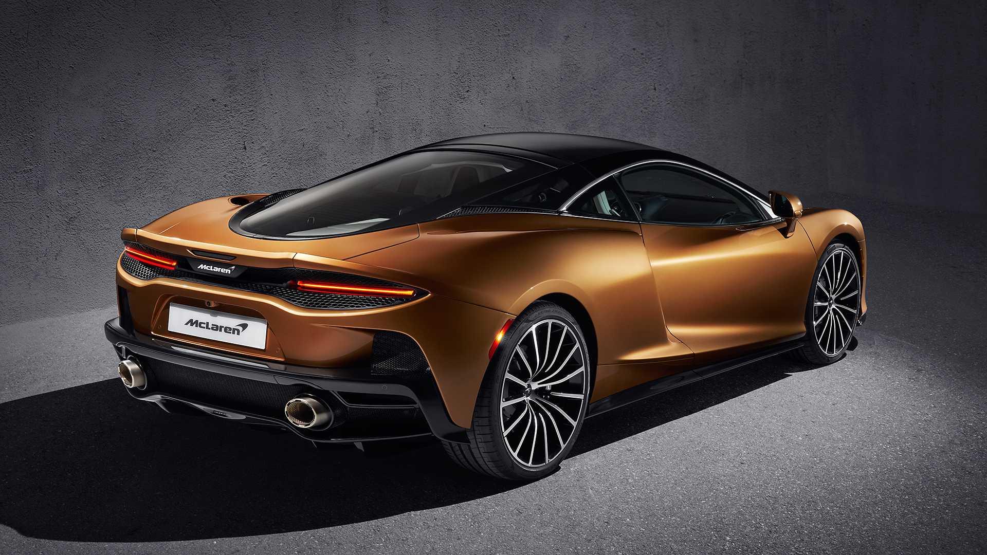 2020 McLaren GT Rear Three-Quarter Wallpapers (12)