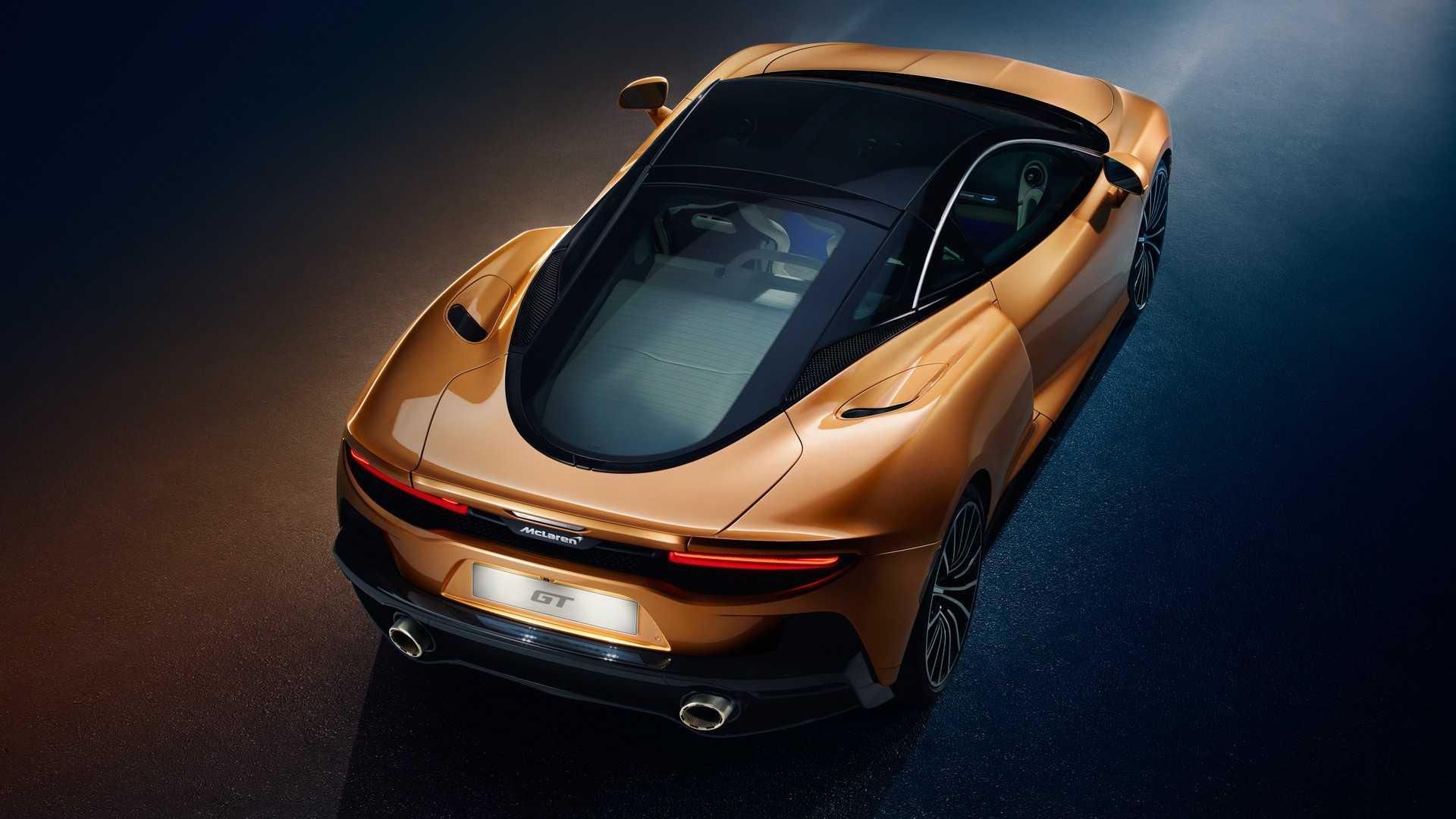 2020 McLaren GT Rear Three-Quarter Wallpaper (13)