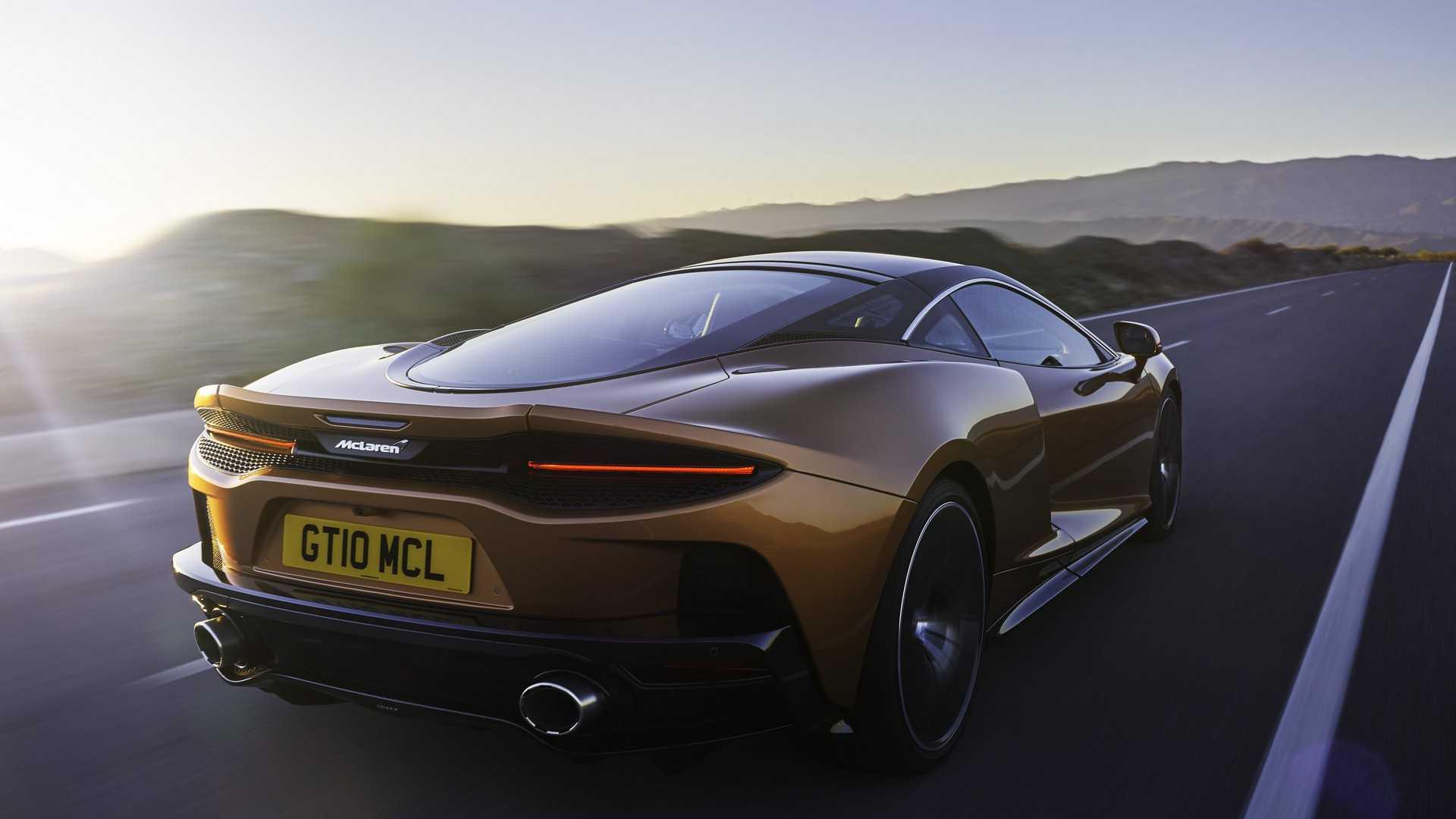 2020 McLaren GT Rear Three-Quarter Wallpapers (2)