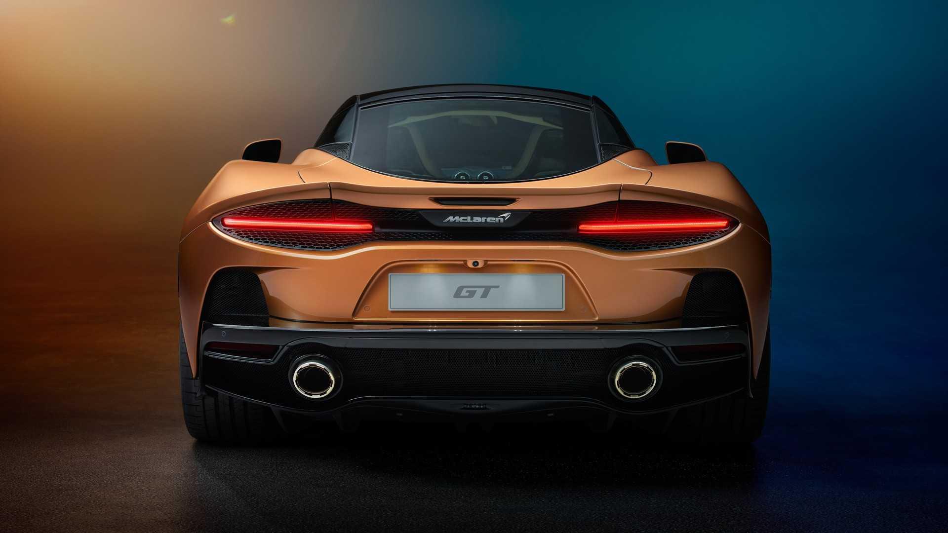 2020 McLaren GT Rear Wallpapers (14)