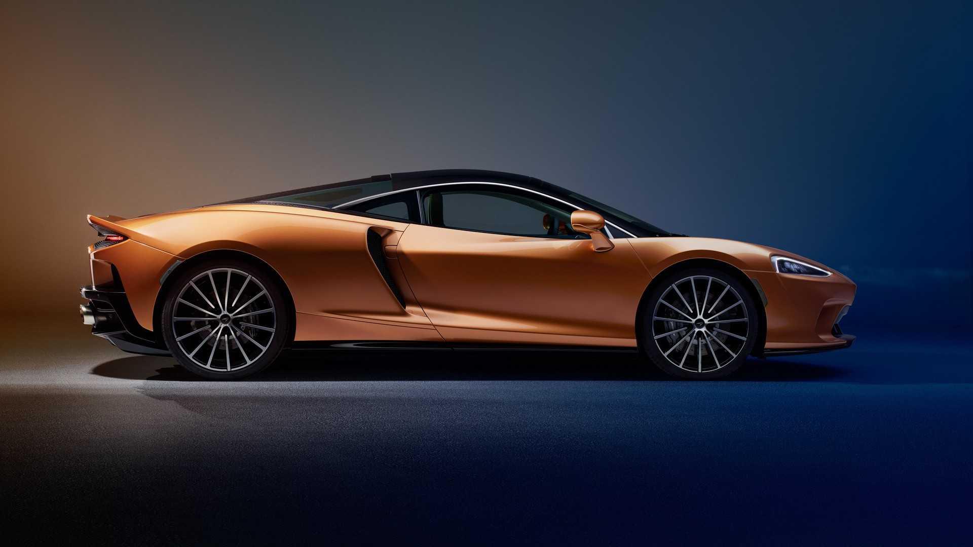2020 McLaren GT Side Wallpapers (15)