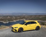 2020 Mercedes-AMG A 45 S 4MATIC+ (Color: Sun Yellow) Front Three-Quarter Wallpapers 150x120 (34)