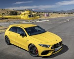 2020 Mercedes-AMG A 45 S 4MATIC+ (Color: Sun Yellow) Front Three-Quarter Wallpapers 150x120 (29)