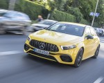 2020 Mercedes-AMG A 45 S 4MATIC+ (Color: Sun Yellow) Front Three-Quarter Wallpapers 150x120 (23)
