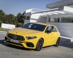 2020 Mercedes-AMG A 45 S 4MATIC+ (Color: Sun Yellow) Front Three-Quarter Wallpapers 150x120 (14)