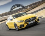 2020 Mercedes-AMG A 45 S 4MATIC+ (Color: Sun Yellow) Front Three-Quarter Wallpapers 150x120 (3)