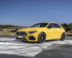 2020 Mercedes-AMG A 45 S 4MATIC+ (Color: Sun Yellow) Front Three-Quarter Wallpapers 150x120 (30)