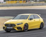 2020 Mercedes-AMG A 45 S 4MATIC+ (Color: Sun Yellow) Front Three-Quarter Wallpapers 150x120 (2)