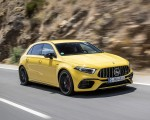 2020 Mercedes-AMG A 45 S 4MATIC+ (Color: Sun Yellow) Front Three-Quarter Wallpapers 150x120 (4)