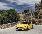 2020 Mercedes-AMG A 45 S 4MATIC+ (Color: Sun Yellow) Front Three-Quarter Wallpapers 150x120 (33)