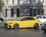 2020 Mercedes-AMG A 45 S 4MATIC+ (Color: Sun Yellow) Front Three-Quarter Wallpapers 150x120 (24)