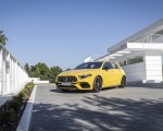 2020 Mercedes-AMG A 45 S 4MATIC+ (Color: Sun Yellow) Front Three-Quarter Wallpapers 150x120 (16)