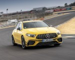 2020 Mercedes-AMG A 45 S 4MATIC+ (Color: Sun Yellow) Front Wallpapers 150x120 (1)