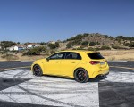 2020 Mercedes-AMG A 45 S 4MATIC+ (Color: Sun Yellow) Rear Three-Quarter Wallpapers 150x120 (36)