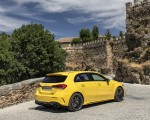 2020 Mercedes-AMG A 45 S 4MATIC+ (Color: Sun Yellow) Rear Three-Quarter Wallpapers 150x120 (35)