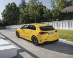 2020 Mercedes-AMG A 45 S 4MATIC+ (Color: Sun Yellow) Rear Three-Quarter Wallpapers 150x120 (18)
