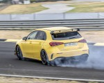 2020 Mercedes-AMG A 45 S 4MATIC+ (Color: Sun Yellow) Rear Three-Quarter Wallpapers 150x120 (10)
