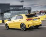 2020 Mercedes-AMG A 45 S 4MATIC+ (Color: Sun Yellow) Rear Three-Quarter Wallpapers 150x120 (6)