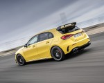 2020 Mercedes-AMG A 45 S 4MATIC+ (Color: Sun Yellow) Rear Three-Quarter Wallpapers 150x120 (7)