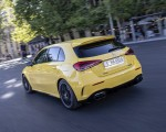 2020 Mercedes-AMG A 45 S 4MATIC+ (Color: Sun Yellow) Rear Three-Quarter Wallpapers 150x120 (25)