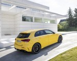 2020 Mercedes-AMG A 45 S 4MATIC+ (Color: Sun Yellow) Rear Three-Quarter Wallpapers 150x120 (19)