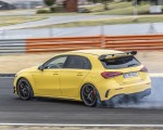 2020 Mercedes-AMG A 45 S 4MATIC+ (Color: Sun Yellow) Rear Three-Quarter Wallpapers 150x120 (11)