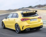 2020 Mercedes-AMG A 45 S 4MATIC+ (Color: Sun Yellow) Rear Three-Quarter Wallpapers 150x120 (8)