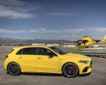 2020 Mercedes-AMG A 45 S 4MATIC+ (Color: Sun Yellow) Side Wallpapers 150x120 (38)