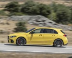 2020 Mercedes-AMG A 45 S 4MATIC+ (Color: Sun Yellow) Side Wallpapers 150x120 (12)