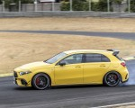 2020 Mercedes-AMG A 45 S 4MATIC+ (Color: Sun Yellow) Side Wallpapers 150x120 (13)