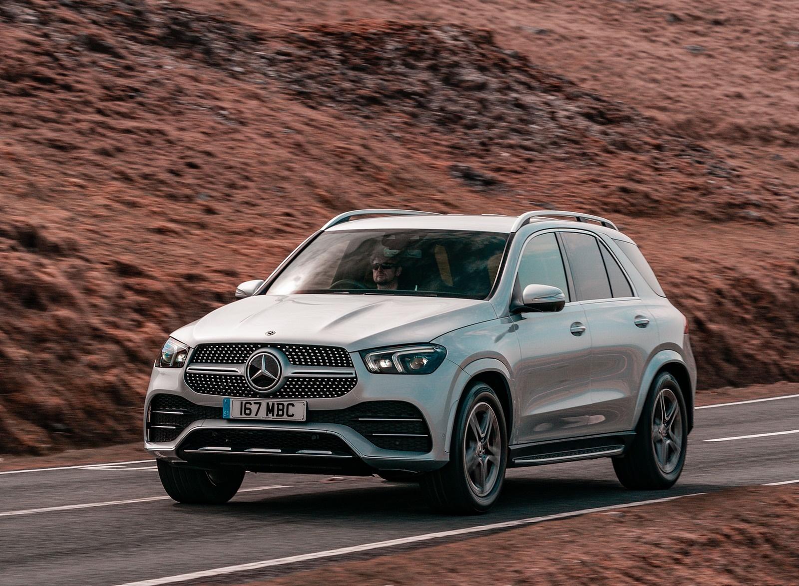 2020 Mercedes-Benz GLE 300d (UK-Spec) Front Three-Quarter Wallpapers (13)