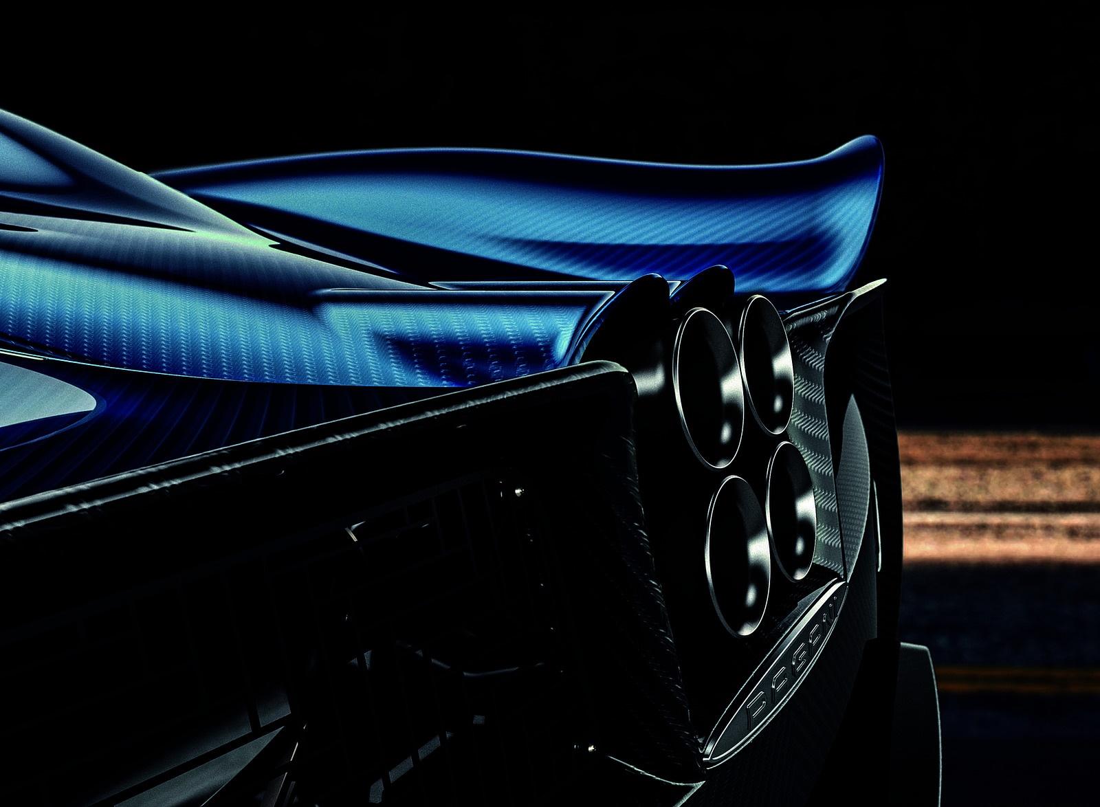 2018 Pagani Huayra Roadster Tailpipe Wallpapers (9)